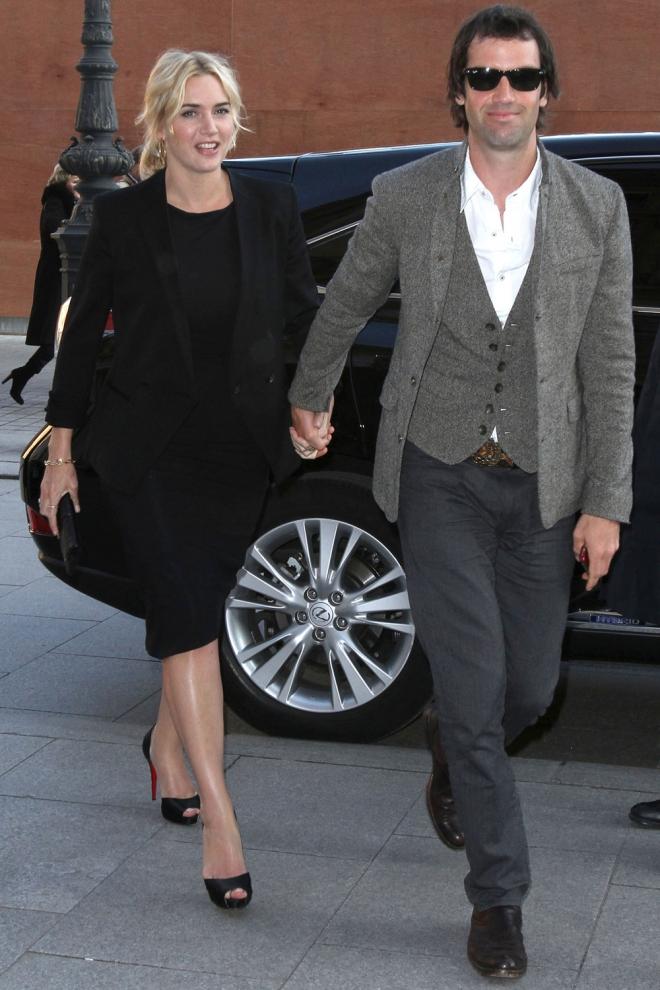 Boda secreta: Kate Winslet y Ned RocknRoll