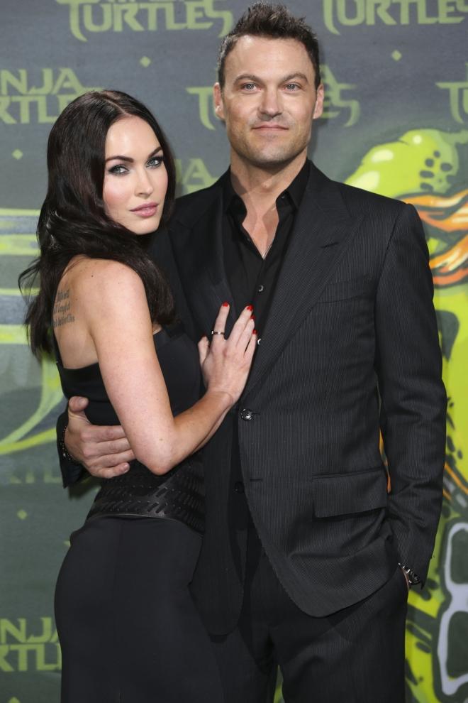 Boda secreta: Megan Fox y Brian Austin Green