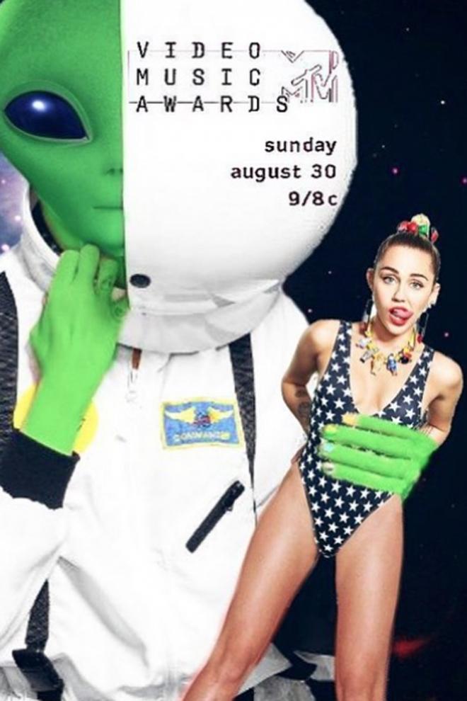 Miley Cyrus para los MTV VMA 2015
