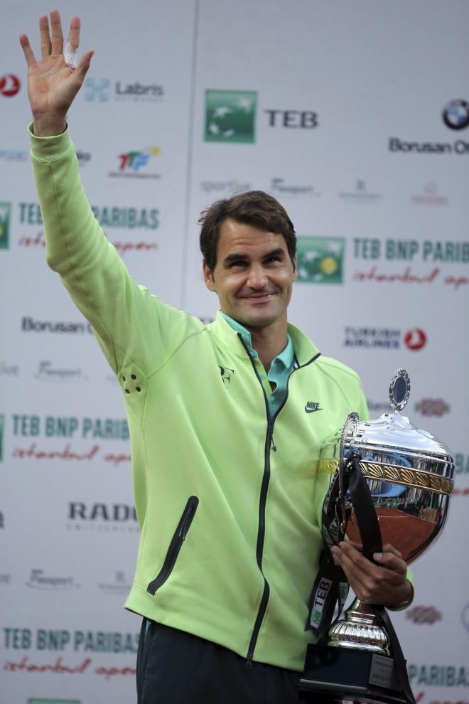Federer, carrera de éxitos