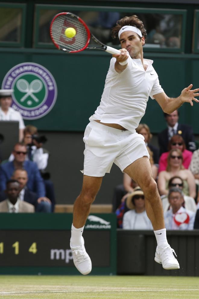Federer, esfuerzo y dedicación