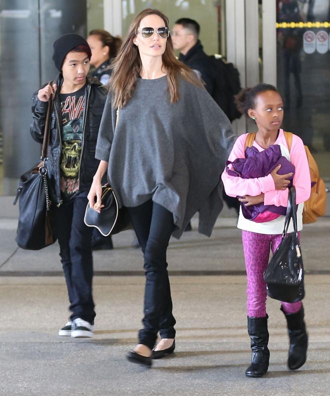 Famosos que adoptaron a sus hijos: Angelina Jolie