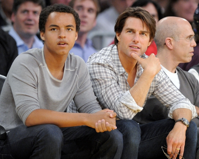 Tom Cruise adoptó a sus hijos con Nicole Kidman
