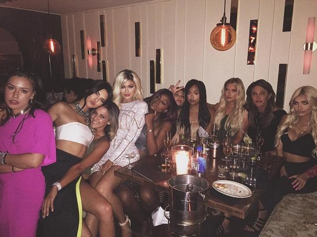 El cumpleaños más salvaje de Kylie Jenner