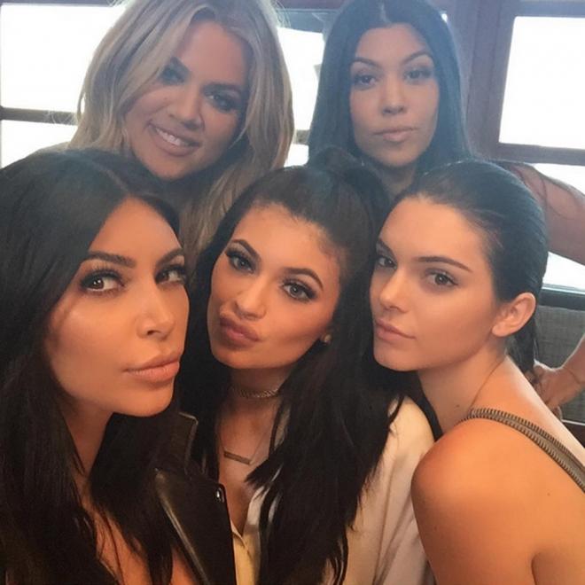 Las hermanas Kardashian, unidas en el cumpleaños de Kylie Jenner