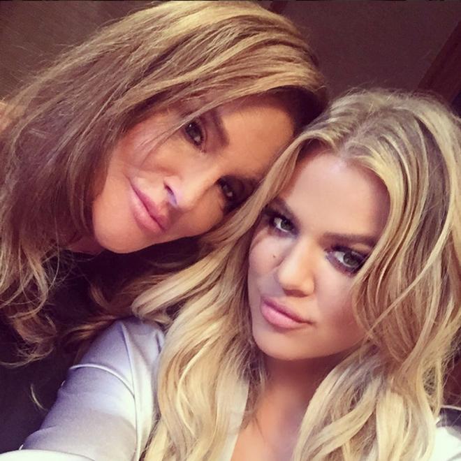 Khloé Kardashian, junto a Caitlyn Jenner en Instagram