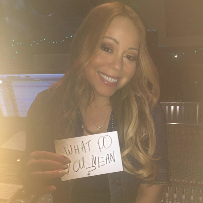 Mariah Carey también apoya What do you mean de Justin Bieber