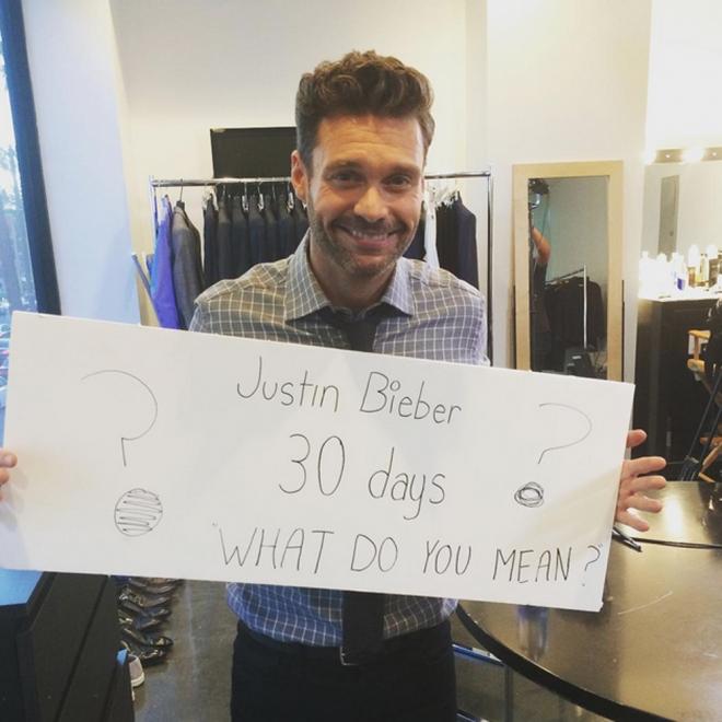 La cuenta atrás de What do you mean de Justin Bieber, en Instagram