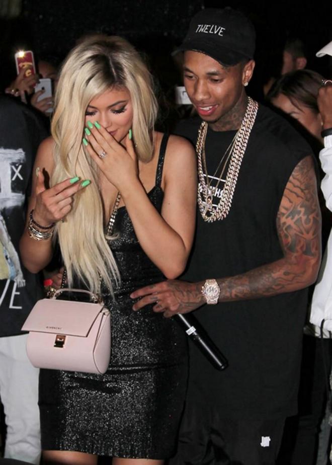 La emoción de Kylie Jenner con su novio Tyga