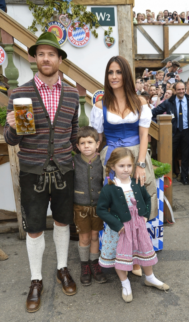 Xabi Alonso tiene una familia numerosa con Nagore Aramburu