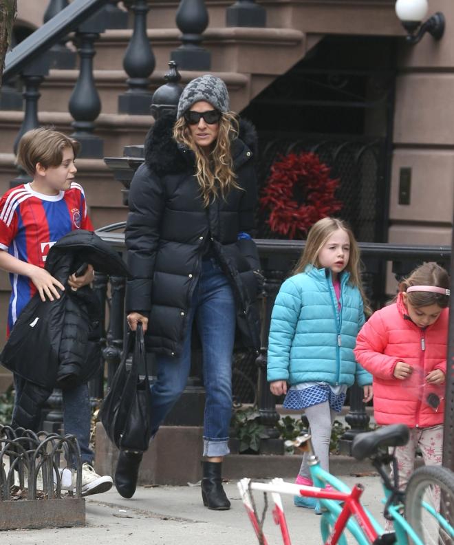 Sarah Jessica Parker, una celebrity mamá numerosa
