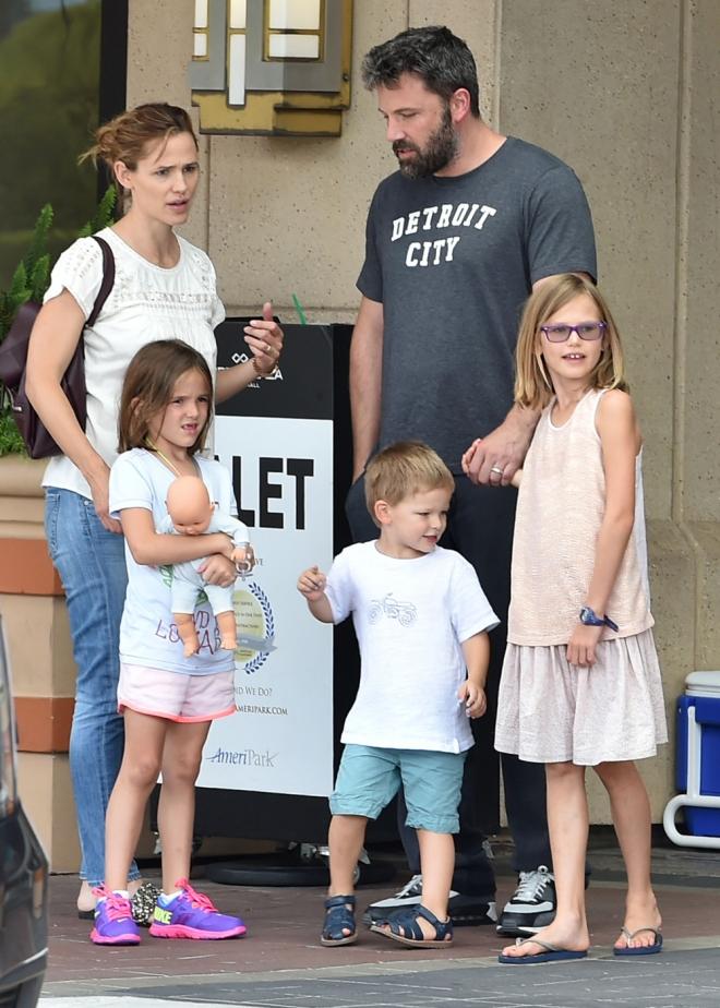 Ben Affleck y Jennifer Garner son padres de tres hijos