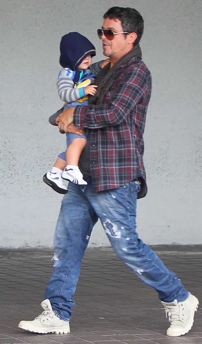 Alejandro Sanz, otro padre con familia numerosa