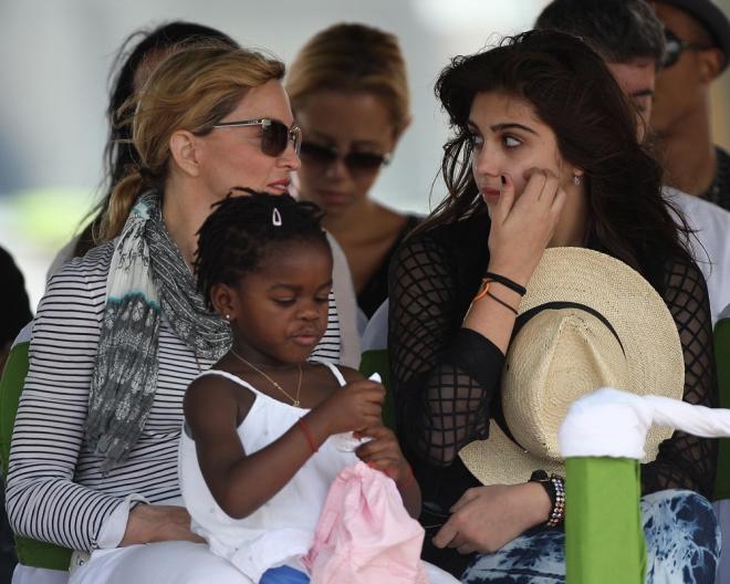 Madonna ya tenía una hija, y adoptó más hijos para ser una mamá numerosa