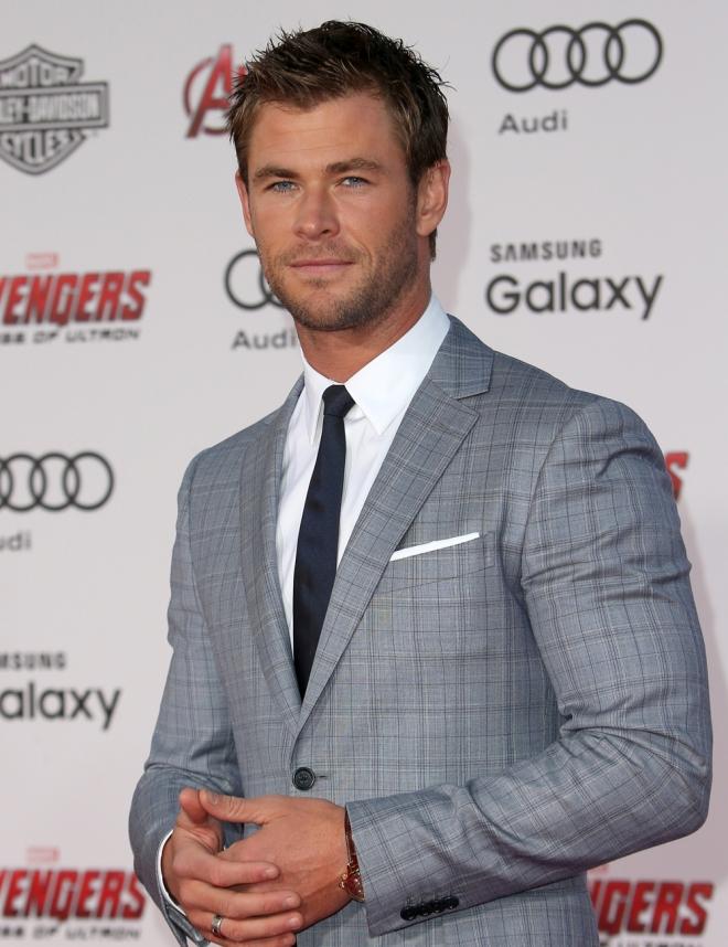Chris Hemsworth, uno de los hombres más sexys de Hollywood