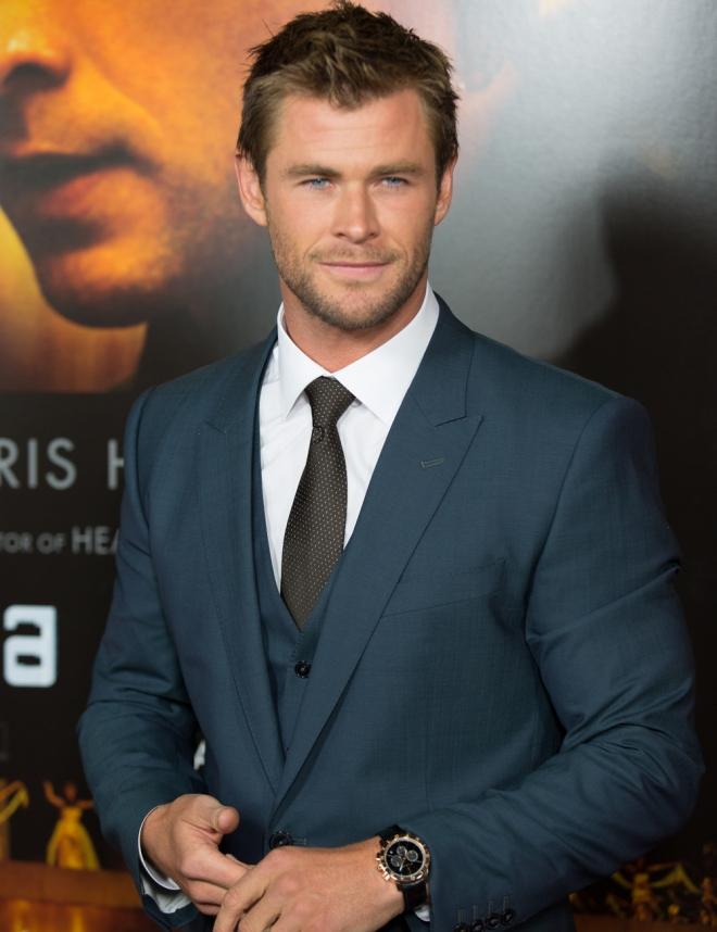 El look más elegante de Chris Hemsworth