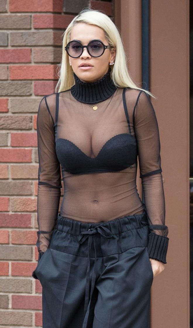 Rita Ora, una diva con transparencias