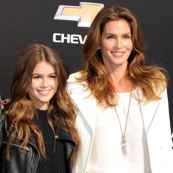 Cindy Crawford, con su preciosa hija adolescente