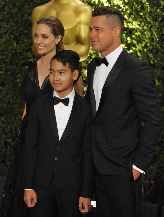Maddox es el hijo adolescente de Angelina Jolie y Brad Pitt