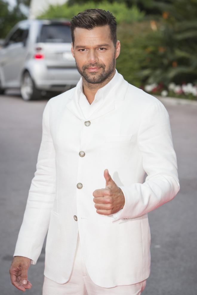 Famosos que son zurdos: Ricky Martin