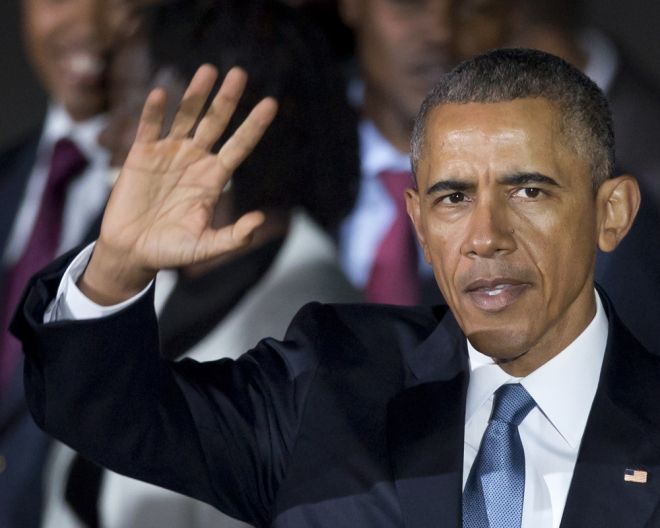 Obama, un presidente que escribe con la izquierda