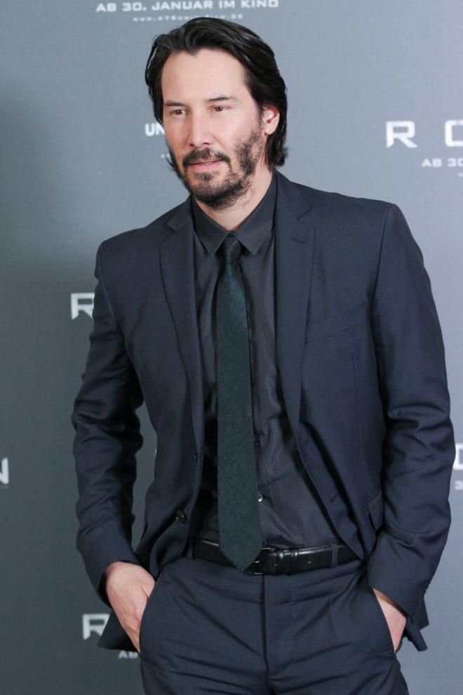 10 famosos que son zurdos: Keanu Reeves
