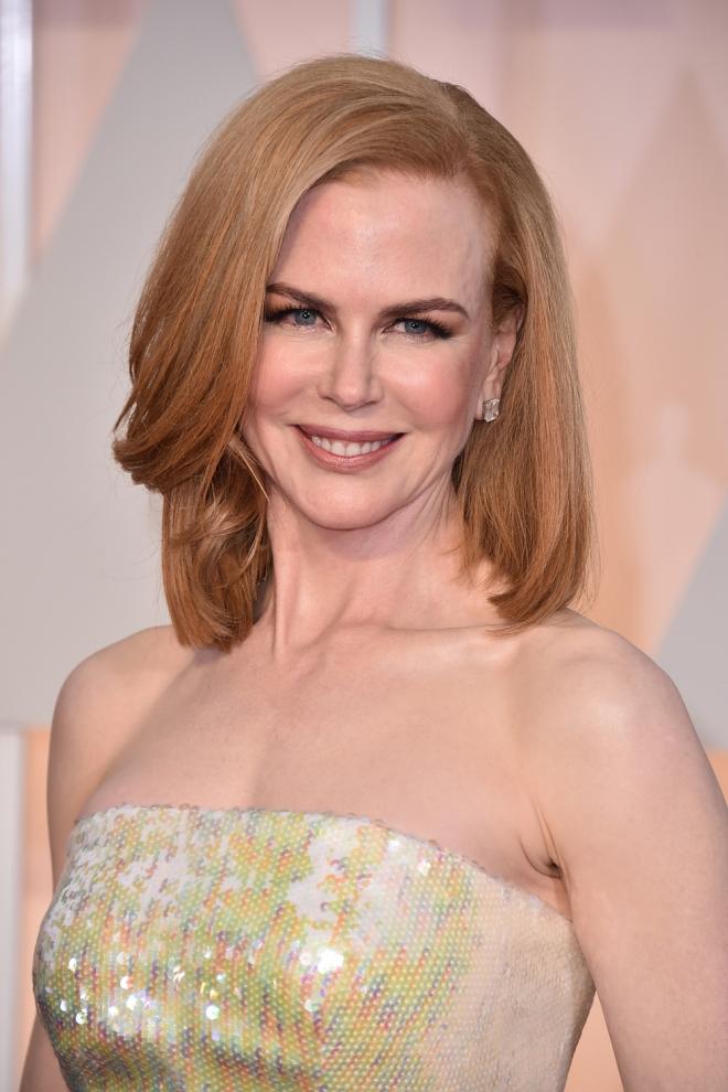 Famosos que son zurdos: Nicole Kidman