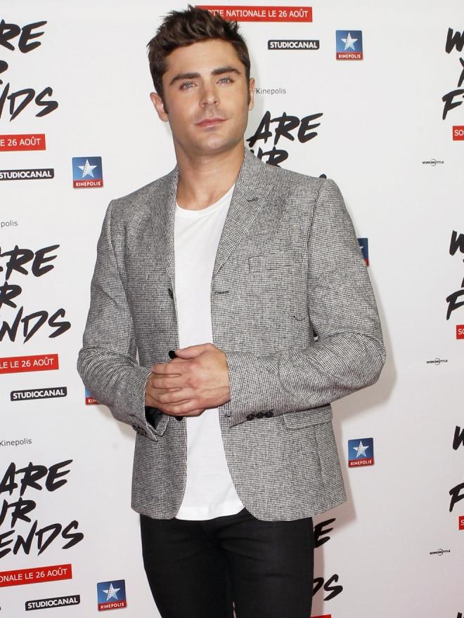 Zac Efron, un guapo chico de estreno de cine
