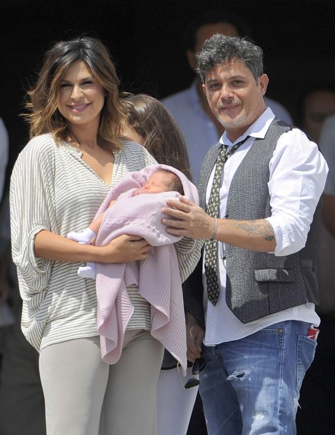 Famosas tras dar a luz: la mujer de Alejandro Sanz