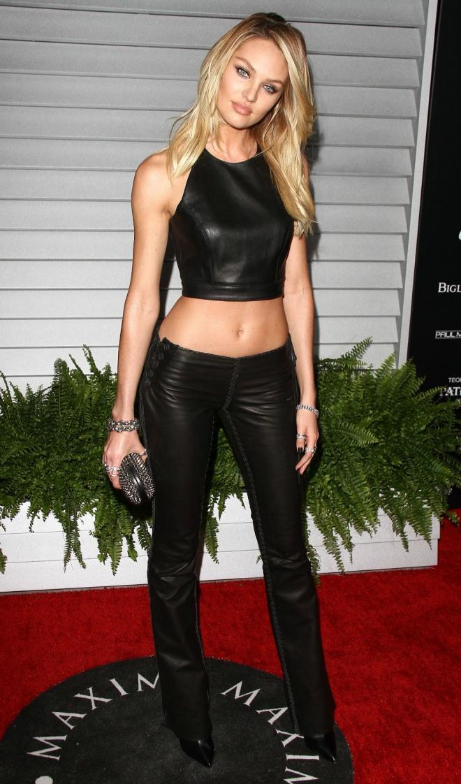 La modelo Candice Swanepoel, siempre sexy