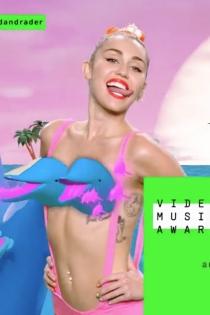 El lado más salvaje de Miley Cyrus en los VMA 2015