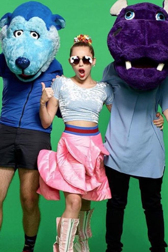 Miley Cyrus, una polémica presentadora para los VMA 2015