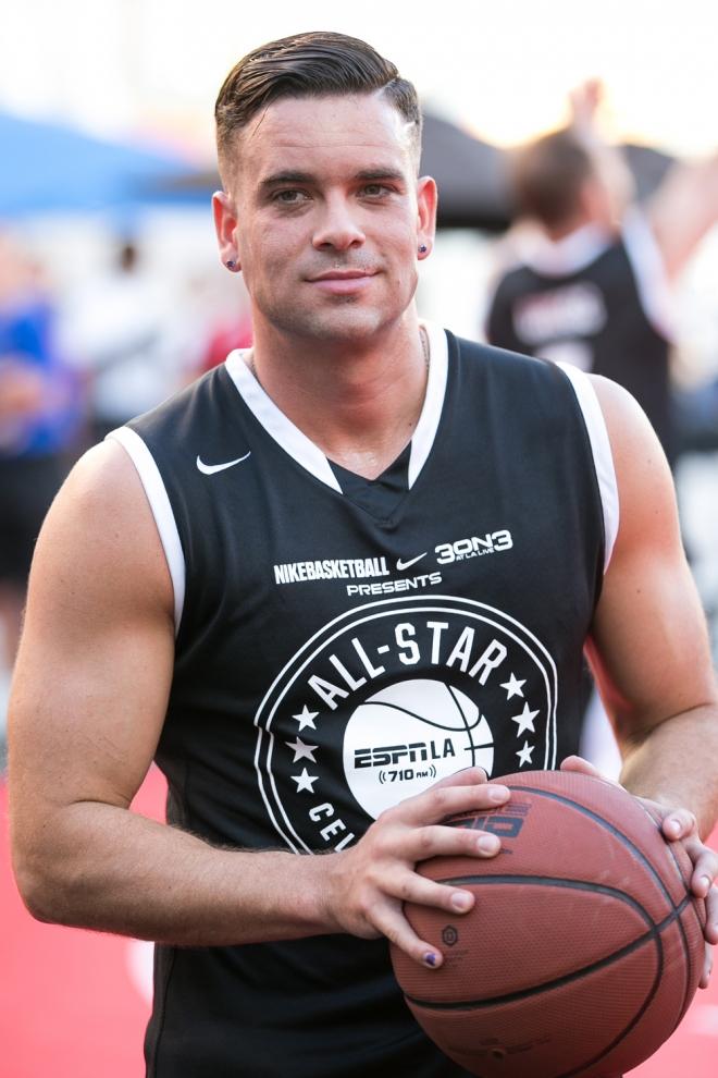 Mark Salling, todo un deportista