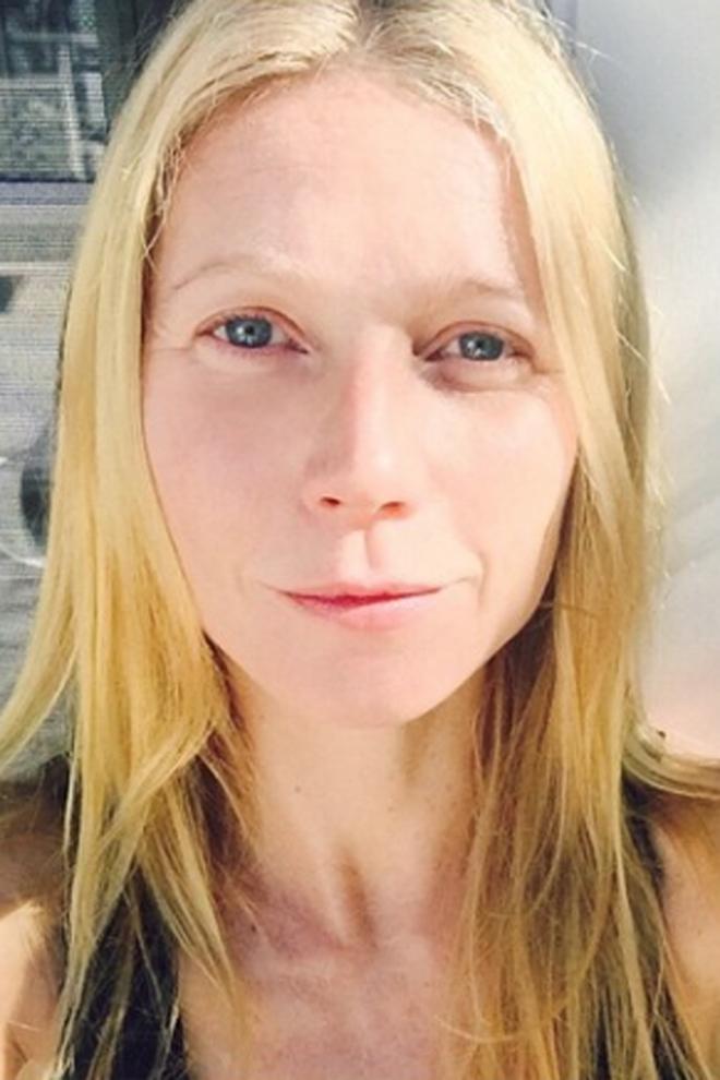 Famosas sin maquillar: Gwyneth Paltrow, muy natural