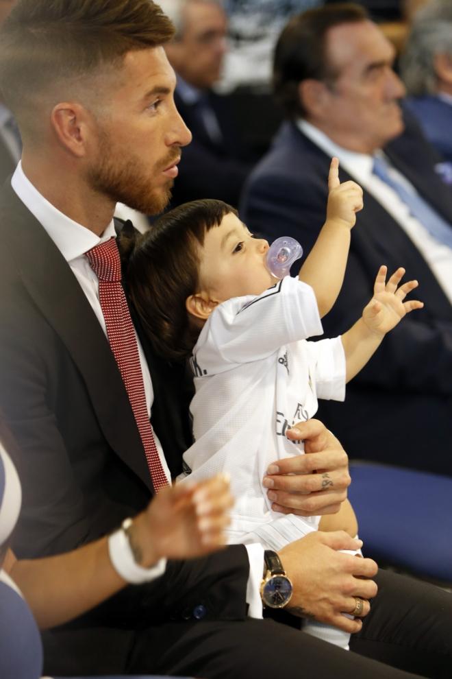 Sergio Ramos, todo un padrazo