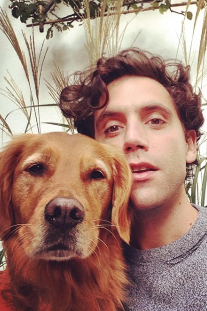 Mika, pasión por sus perros