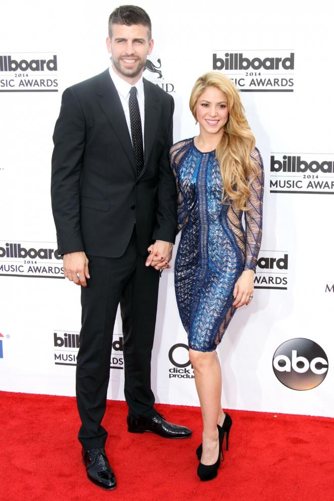 Padres 2015: Shakira y Gerard Piqué