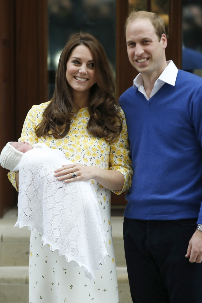 Padres 2015: Kate Middleton y Guillermo de Cambridge