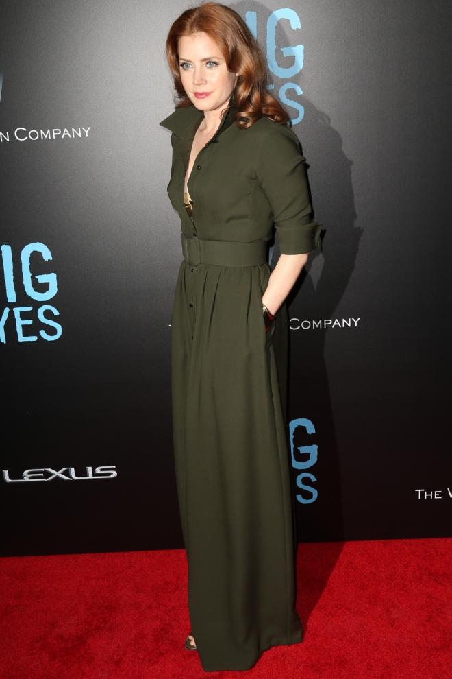Amy Adams apuesta por el verde