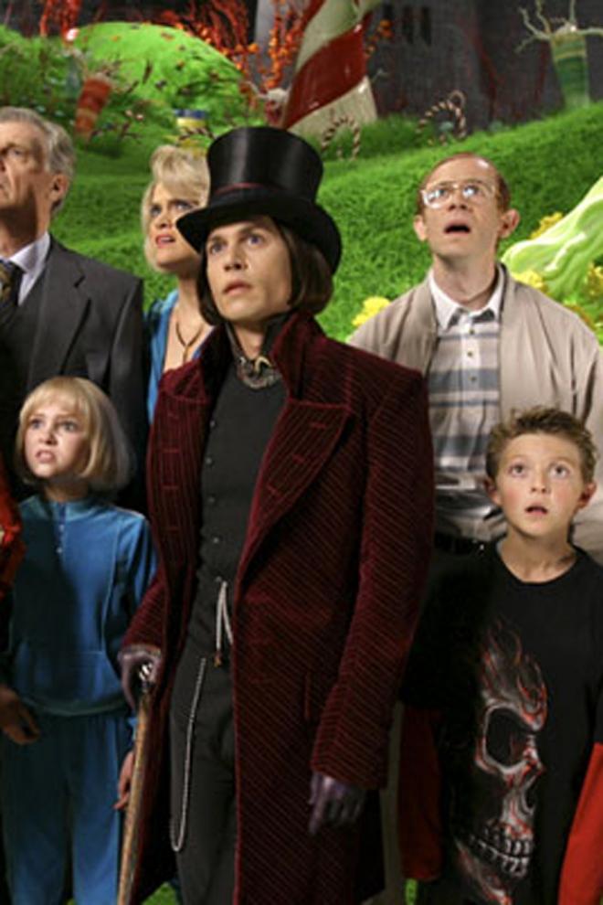 Tim Burton: Charlie y la fábrica de Chocolate