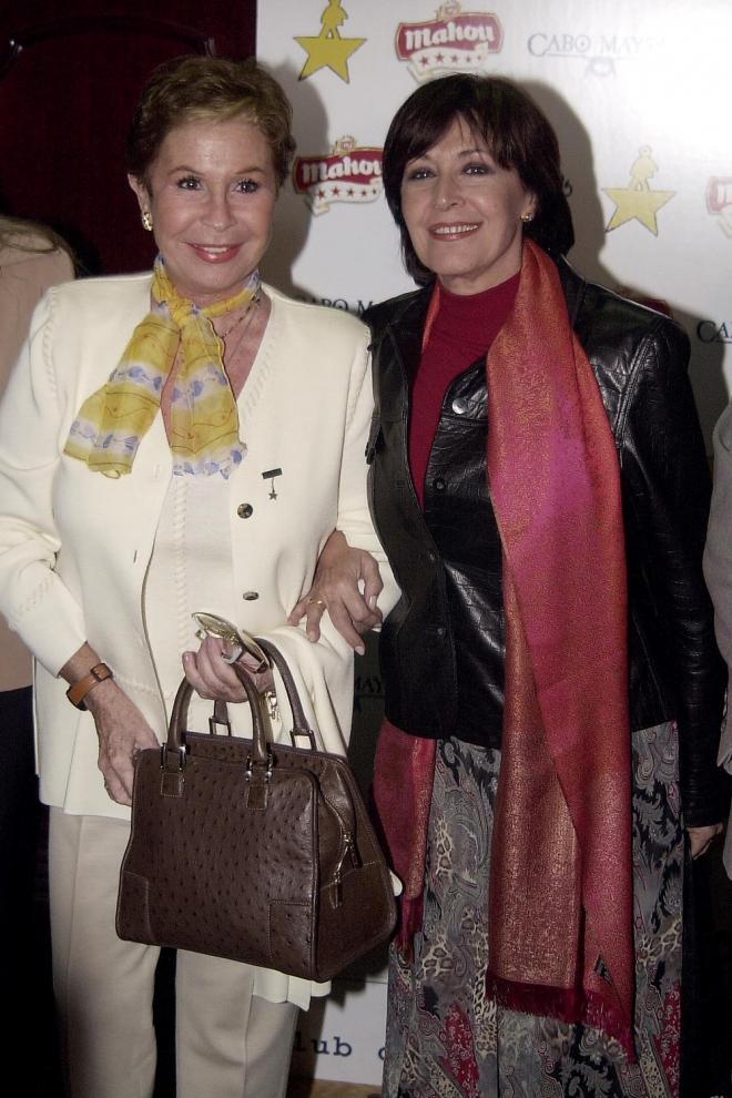 Lina Morgan y Concha Velasco, dos grandes