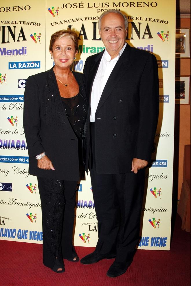 Lina Morgan y Jose Luis Moreno, inseparables