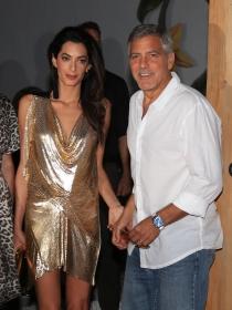 George Clooney y Amal, muy compenetrados en Ibiza