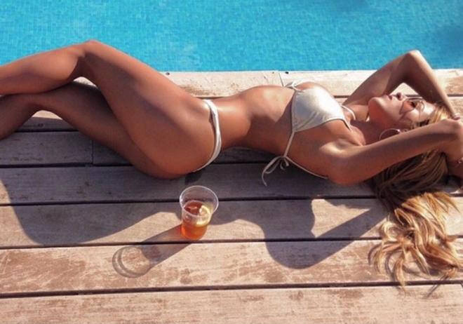 La foto más caliente del verano, con Oriana Marzoli