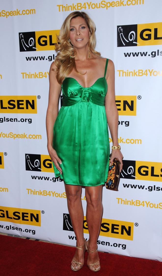 El vestido verde de Candis Cayne, una gran apuesta