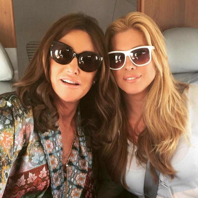 La amistad de Candis Cayne y Caitlyn Jenner cada día es más evidente