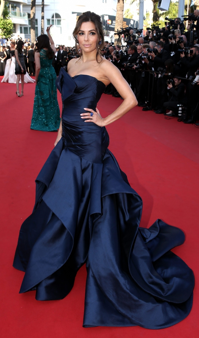 Famosas vestidas de Versace: Eva Longoria