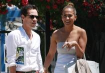 Exparejas que se llevan bien: Jennifer Lopez y Marc Anthony