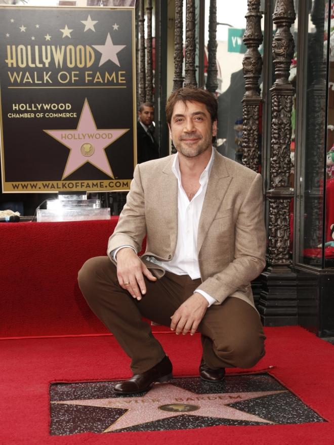 Paseo de la Fama: la estrella de Javier Bardem