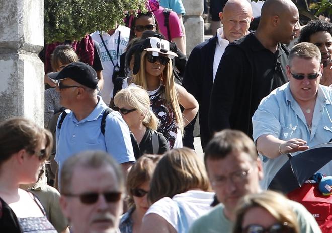 Beyoncé también es fan de Disneyland